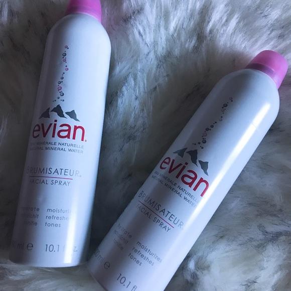 9c52a1b9d7bdd Evian Mineral water spray bundle set NWT
